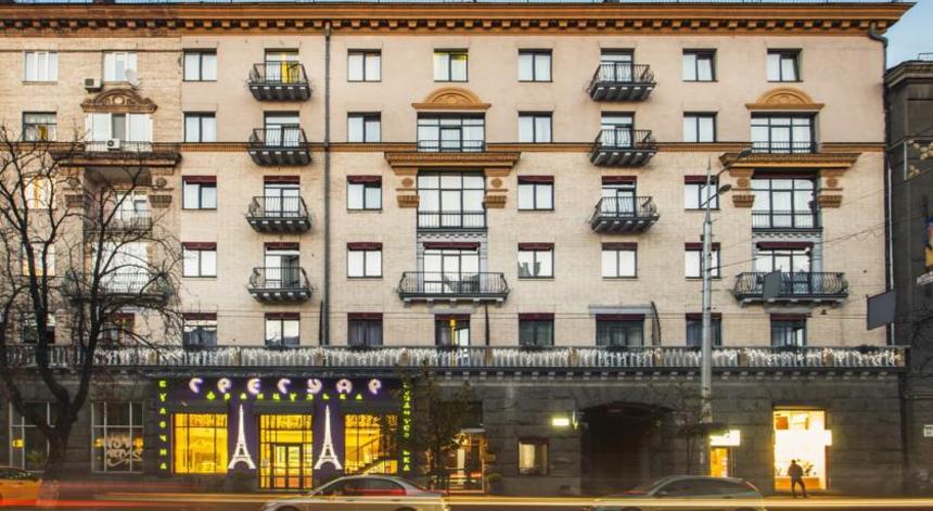 Отель в центре Киева